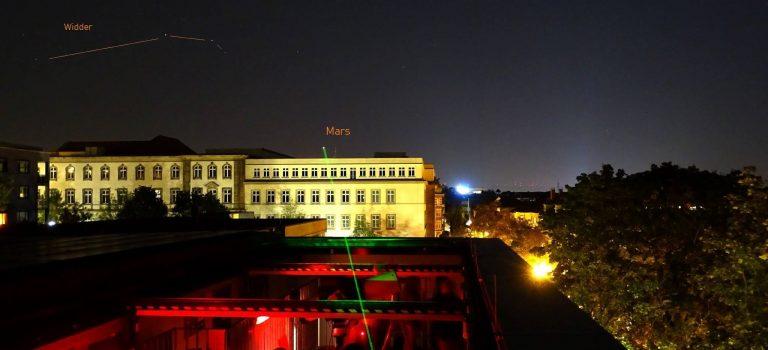 Sternwarte auf dem SFN Live