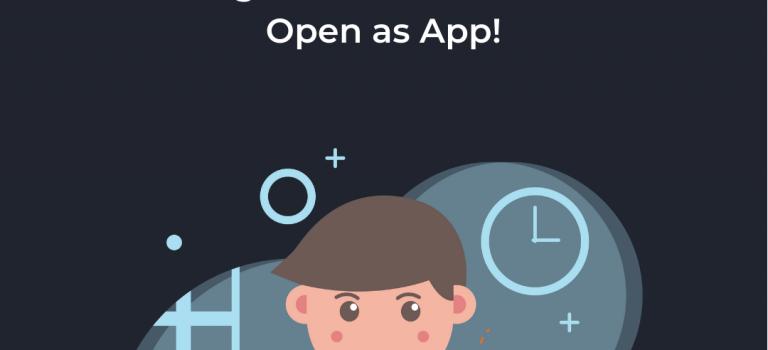 No Code App Entwicklung mit Open As App