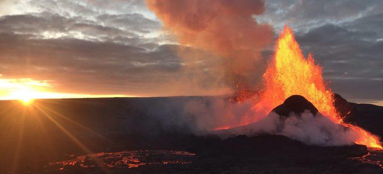 Auf den Spuren der Reykjanes-Vulkaneruption – Jungforscherinnen haben den Ausbruch prognostiziert