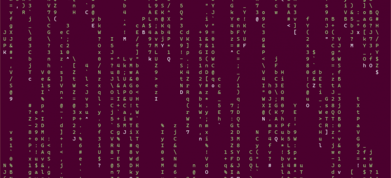 It doesn't always have to be colorful – don't be afraid of the command line!