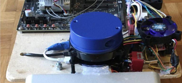 Roboter mit Sensoren