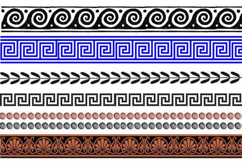 Symmetrien von Bandornamenten – eine Begegnung von Geometrie, Algebra und Ästhetik