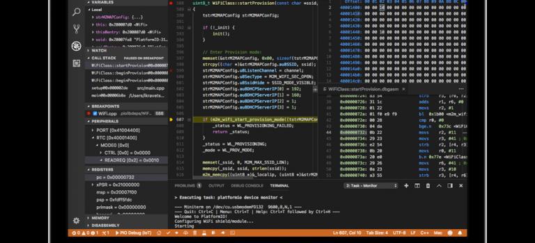 Starting with embedded software development using PlatformIO and Arduino
